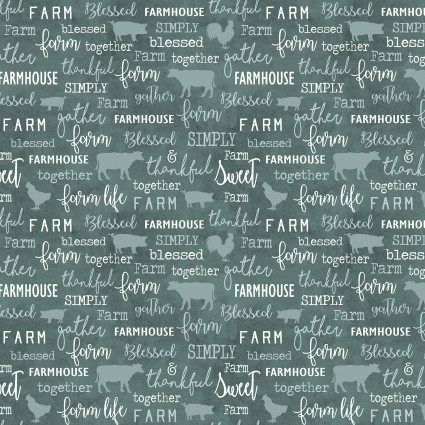 Chalkboard Teal-6843-84- Farm Sweet Farm