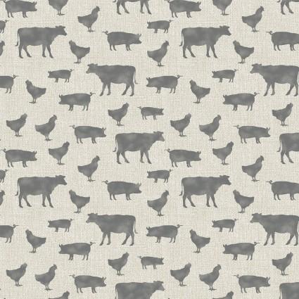 Farm Animals Tan/Gray-6845-70-Farm Sweet Farm