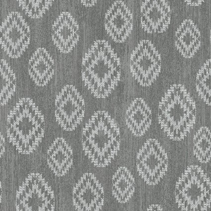 Benartex Modern Lodge6966-15 Diamonds on Grey