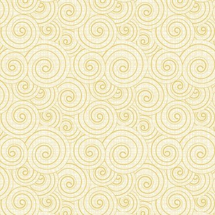 Words to Quilt By Swirl Light Yellow