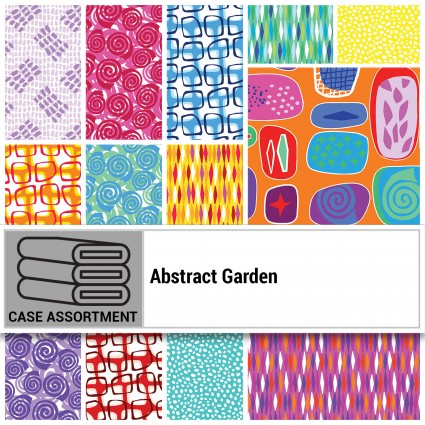 Abstract Garden Strip-pies
