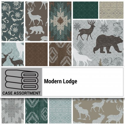 Modern Lodge 10 Square Pack