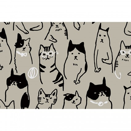 Cats & Dogs Canvas/Linen