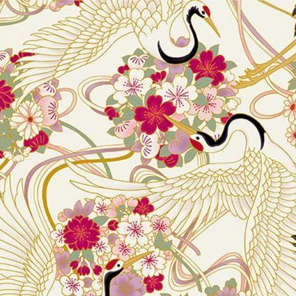 Japanese Spring on White