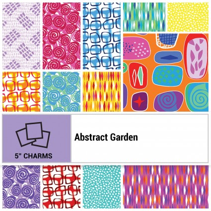 Abstract Garden 5 Charm Pack (42 pcs) - COMING SOON