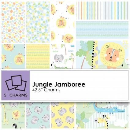 Jungle Jamboree 5 Square Pack