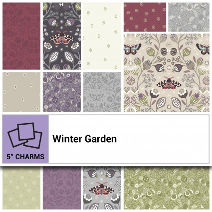 Lewis & Irene Charm Pack - Winter Garden CP-LEICWGD
