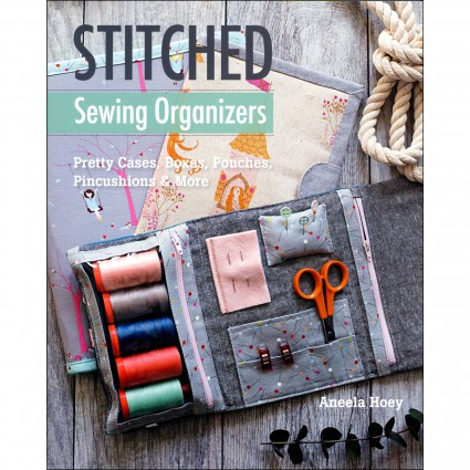 STITCHED SEWING ORGANIZER - BOOK - STASH BOOKS