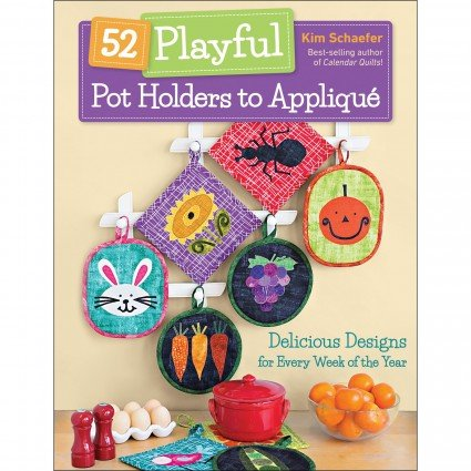 52 Playful Pot Holders To Appliqu�