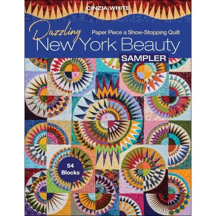 Dazzling New York Beauty Sampler Paper Piecing Book