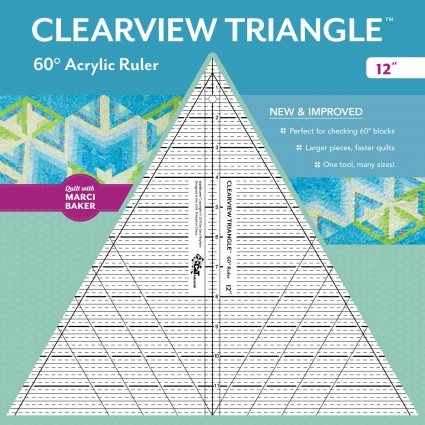 60 Degree Clearview Triangle 12 Tall