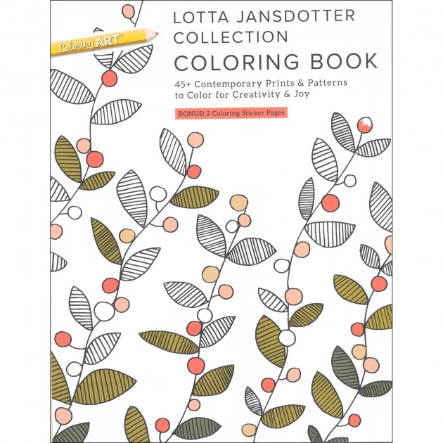 Lotta Jansdotter Coloring Book