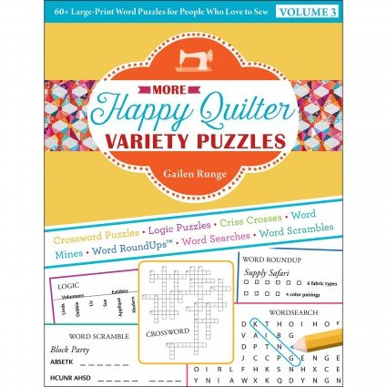 More Happy Quilter Variety Puzzles