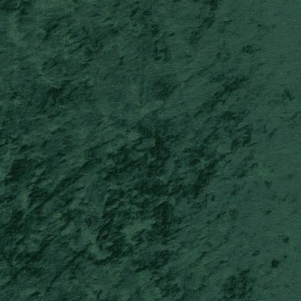 David Textiles - Crushed Panne Velour - Hunter Green