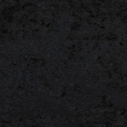 David Textiles - Crushed Panne Velour - Black
