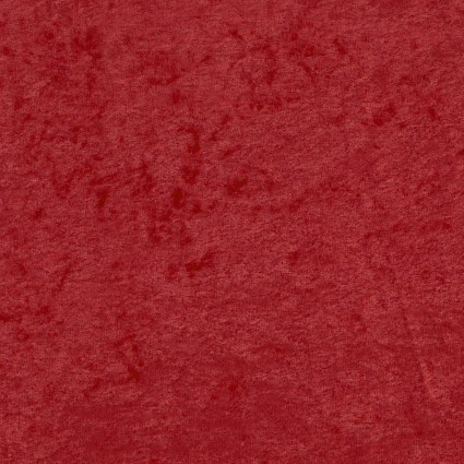 David Textiles - Crushed Panne Velour - Red
