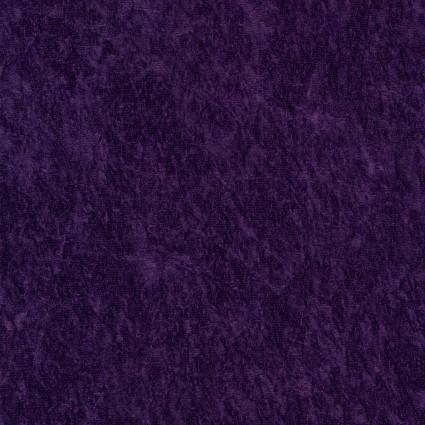 David Textiles - Crushed Panne Velour  -Eggplant