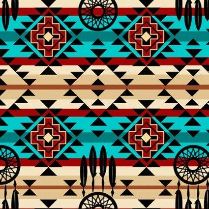 Southwest Sunset Native Dream Catcher