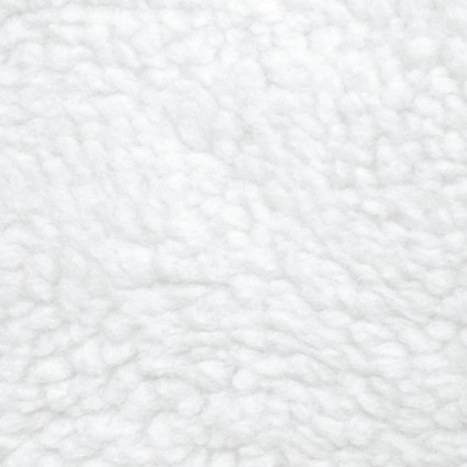 FAUX FUR/SHERPA SOLID WHITE 9656-9P5