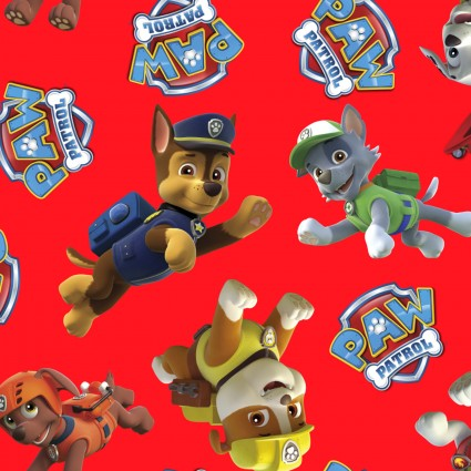 Paw Patrol Red Fleece