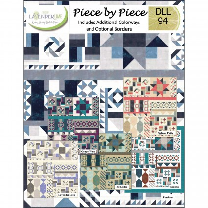 Piece by Piece pattern book by Lavender Lime DLL94
