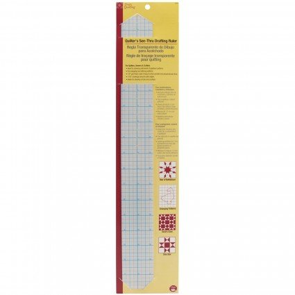 Quilter's See-Thru Drafting Ruler DRI3300