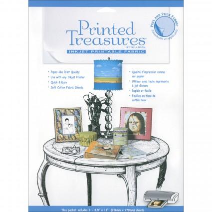 Printed Treasures - Inkjet Printable Fabric (per sheet)