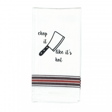 Chop It Tea Towel