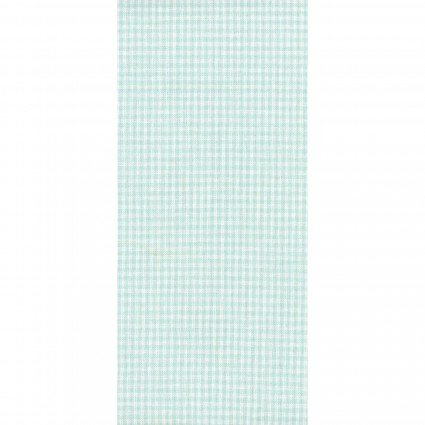 Tea Towel Mini Check Mint