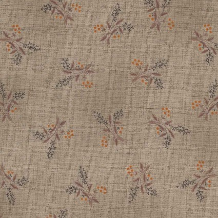 Daiwabo/Handworks Calm Taupe Print by EESCO CL10095S-D