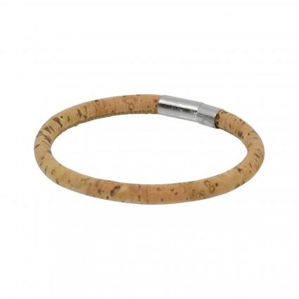 Cork Circle Bracelet