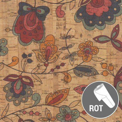 Cork - Amazon Flower Print