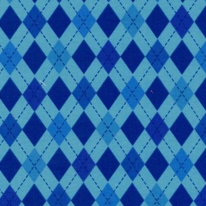 Crafty Cottons - Blue - Plaid