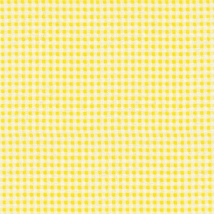 Yellow Gingham Flannel Prints