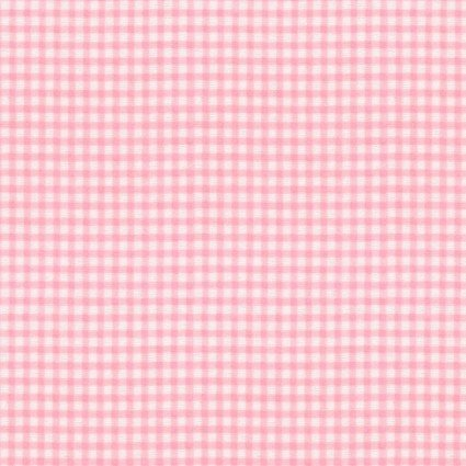 Coral Gingham Flannel Prints