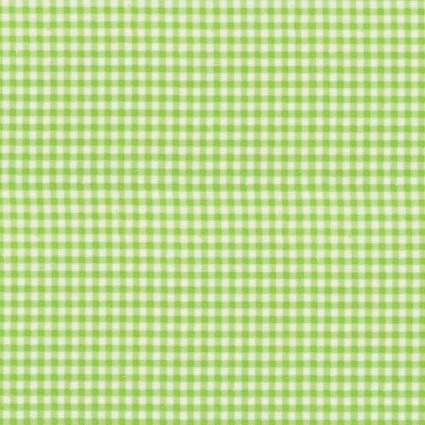 Green Gingham Flannel Prints