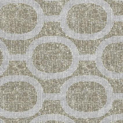 Handworks* Le Ciel Geometric Print 80 Cotton/20 Linen Blend EESSL10212S-A