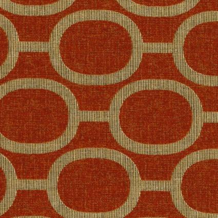 Handworks* Le Ciel Geometric Print 80 Cotton/20 Linen Blend EESSL10212S-C