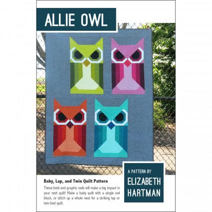ALLIE OWL - PATTERN - ELIZABETH HARTMAN