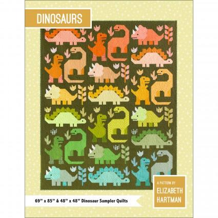 Dinosaurs Pattern by Elizabeth Hartman