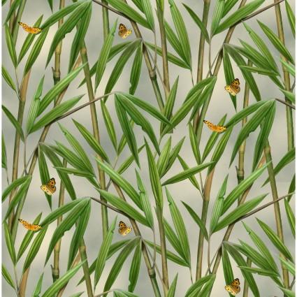 Bamboo w/ Butterflies