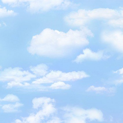 Blue Cloudy Sky Landscape Medley