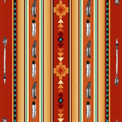 Elizabeth's Studio Native Spirit-530-Terracotta