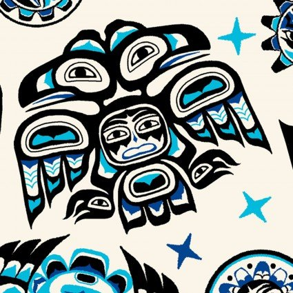 First Nations Prints - Spirit in Blue