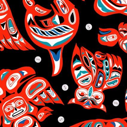 Native Spirit - black/multi