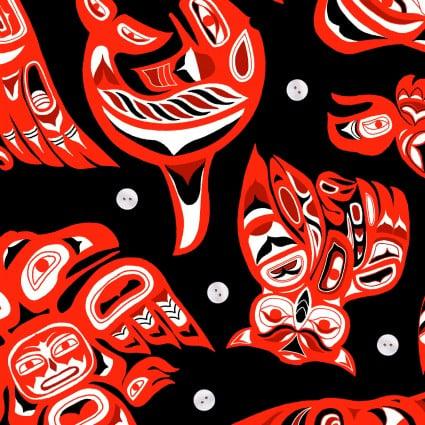 Native Spirit - Black/Red