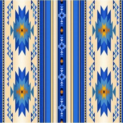 Tucson blanket stripe royal