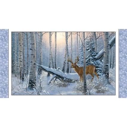 Winter Sunrise Snow Panel<br/>Elizabeth's Studio 7904-SNO