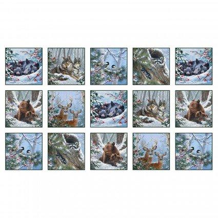 Christmas Panel - Winter Companions