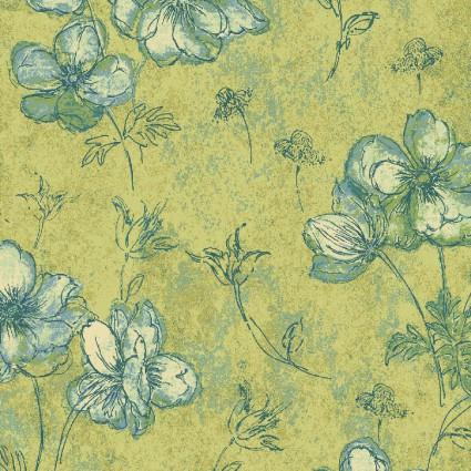 Naturescapes: Floral Green